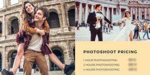 Professional photography service on the streets of Rome. Dedicated to tourists and visitors. High quality souvenir photographs 100% GUARANTEED.